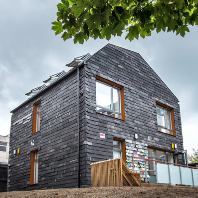 "Waste House by BBM - ""UK's first permanent building made from ... 