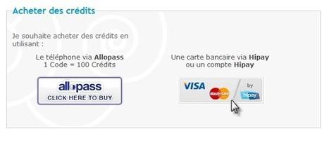 Hipay: Nouvelle solution d'achat de crédits | Forumactif | Scoop.it