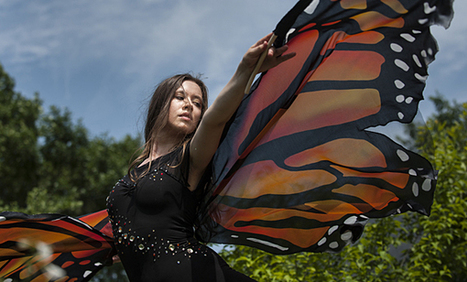 Concern For Monarch Butterflies Inspires Dancer To Action | KCUR | OffStage | Scoop.it