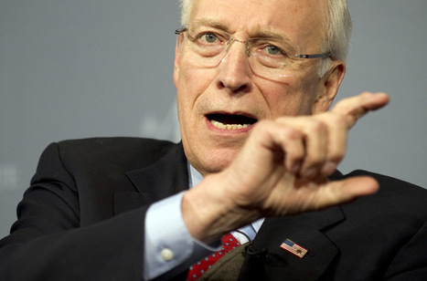 Dick Cheney should be in prison, not on 'Meet the Press' - Greenwald | No. | Scoop.it