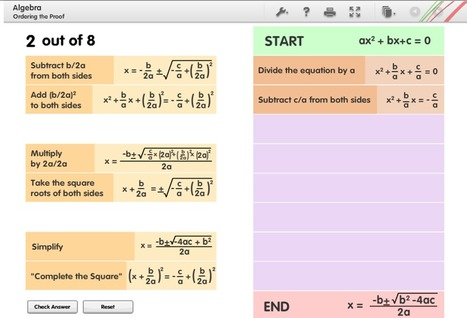 NGfl Cymru GCaD ¦ ordering-proofs | Adnoddau Maths | Scoop.it