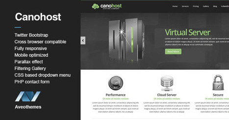 CanoHost Responsive Hosting & Business Theme RIP Download | PremiumTemplatesDownload | PremiumTemplatesDownload | Scoop.it