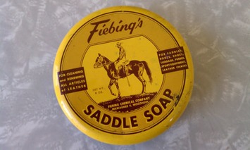 Vintage 1950s Yellow Fiebing's Saddle Soap Tin Fiebing Chemical Company Milwaukee Wisconsin | Antiques & Vintage Collectibles | Scoop.it