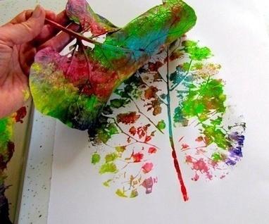 Manualidades y actividades de expresión plástica sobre la primavera | Manualidades para niños | Scoop.it