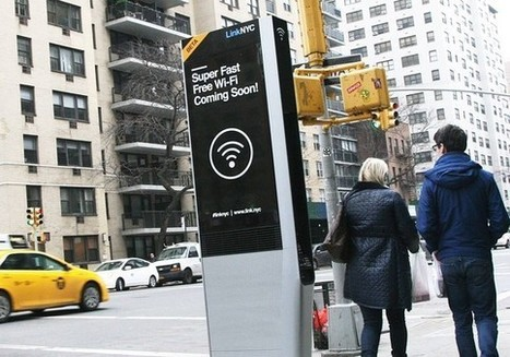 New York City to swap out payphones for free high-speed Wi-Fi hot spots | Technology for the Modern Educator | Scoop.it