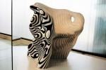 Mathias Bengtsson's Zebra-Like Biodegradable Paper Chair Brings Danish Design to the Cutting Edge | Paper Horizon | Scoop.it