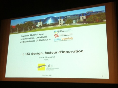 Journée Innovation et UX | Cabinet de curiosités numériques | Scoop.it