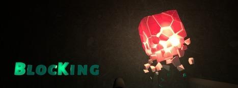 Skill Game of the Week - BlocKing (DMONGS)   Cashplay   BlocKing - light in the dark (iOS game)   Scoop.it
