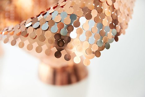 malgorzata mozolewska uses flexible metal fabric in eye of the light | laurent | Scoop.it