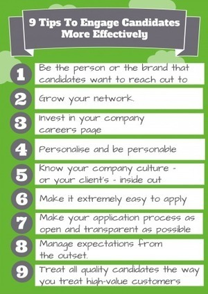 9 Tips To Engage Candidates More Effectively - Social-Hire | HR Scoops | Scoop.it