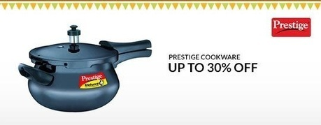 Prestige Cookware - UP TO 30% OFF , deals fromHome and Garden, discount voucher from India | thetradeboss | Scoop.it