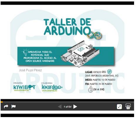 Material elaborado para Taller Arduino en espacio REs | tecno4 | Scoop.it