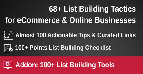 68+ email list building tactics for online businesses | KommerZen | Communication, New Media and Social Media | Scoop.it