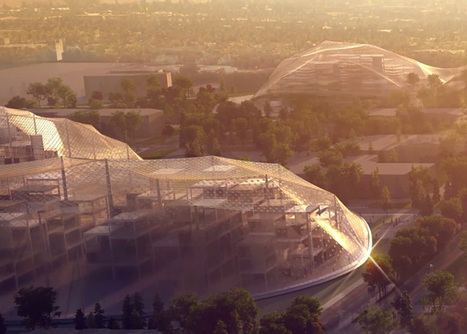 Robotic cranes to build BIG and Heatherwick's Google HQ | Smart devices and technology solutions | Scoop.it