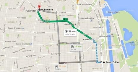 Ahora se pueden revisar los subtes de Buenos Aires en Google Maps | Tecnología 2015 | Scoop.it