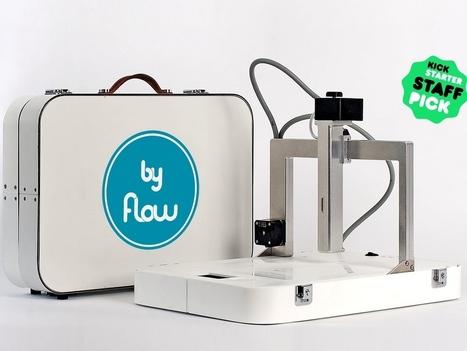 Focus: The First Multi-material Portable 3D Printer (video) | FabLab - DIY - 3D printing- Maker | Scoop.it