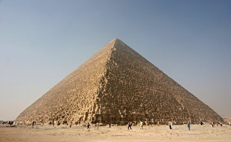 Inside the Great Pyramid of Giza | Past Imperfect | high school World History | Scoop.it