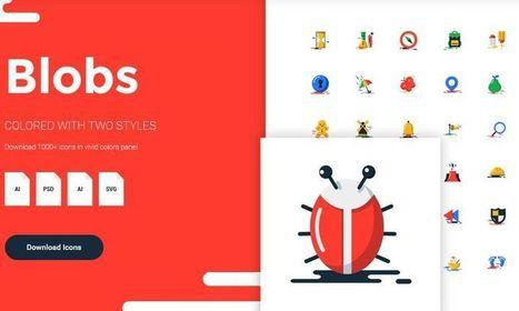 Más de 1000 iconos gratuitos, con estilo plano y vivos colores | Educacion, ecologia y TIC | Scoop.it
