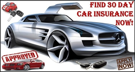 Cheap 30 day car insurance with no deposit and save big on your policy premium | One Day Car Insurance Quote | Scoop.it