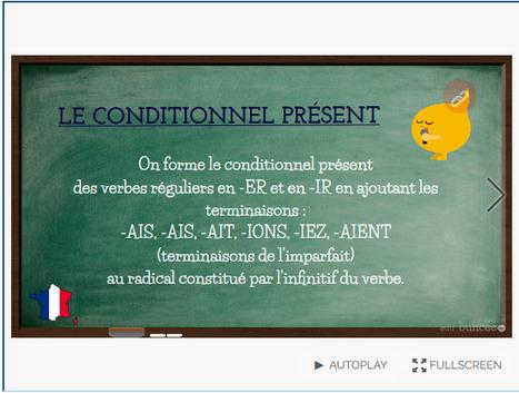 Le bistrot du FLE: Le conditionnel présent | POURQUOI PAS... EN FRANÇAIS ? | Scoop.it
