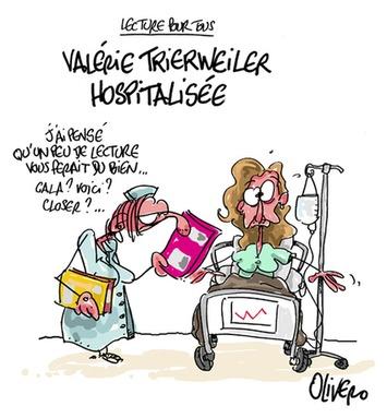 Valérie Trierweiler hospitalisée   Baie d'humour   Scoop.it