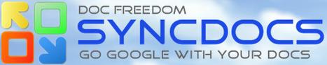 Syncdocs - Utilize o Google Docs no seu pc | 1-MegaAulas - Ferramentas Educativas WEB 2.0 | Scoop.it