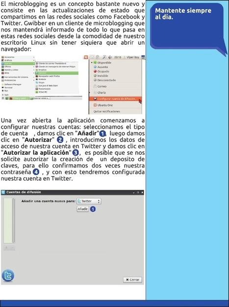 Configurar Redes Sociales en Linux « Seth-Group Corp >Blog! | Docentes:  ¿Inmigrantes o peregrinos digitales? | Scoop.it
