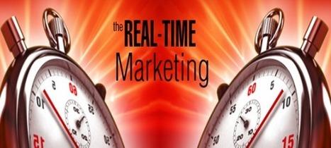 Le marketing en temps réel, une opportunité pour les marques | Social Media & Digital Revolution | Scoop.it