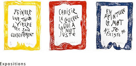 Alechinsky Marginalia   Arts vivants, identité européenne - Living Arts, european Identity   Scoop.it