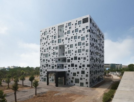 [Jinhua, China] Cube Tube in Jinhua / SAKO Architects | The Architecture of the City | Scoop.it