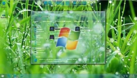 FREE Windows themes: Glass Skin Pack for Windows 7 | networking security | Scoop.it