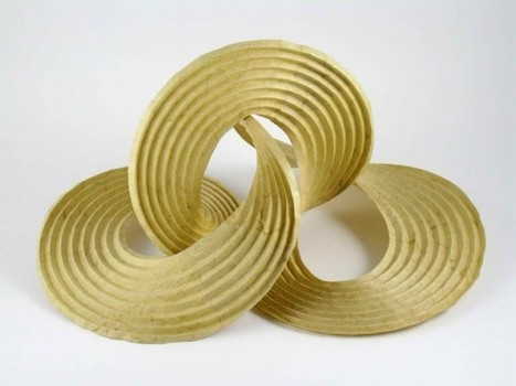 Curved-Crease Sculptures: Self-Folding Origami | Share Some Love Today | Scoop.it