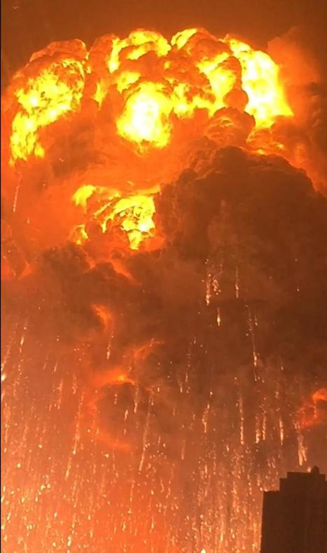 Explosions shock China's Tianjin port | Ciné Schneider | Scoop.it