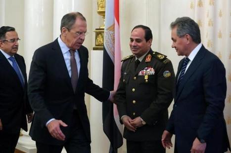 Putin backs Sisi to be president of Egypt - Aljazeera.com | Egypt Week 4 | Scoop.it