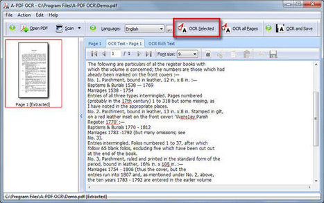 How to convert Extract Text from uneditable scanned PDF and images by using A-PDF OCR? [A-PDF.com] | A-PDF OCR - OCR PDFs - Convert Scanned PDF to Text | Scoop.it