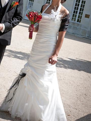 Robe de mariée Aurye innocente pas cher doccasion 2012 - Pays de la ...