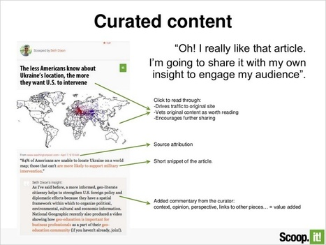The benefits of content curation for seo | Socially | Scoop.it