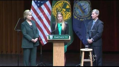 Clinton campaigns in New Hampshire - WCAX | Tuck Executive Education | Scoop.it