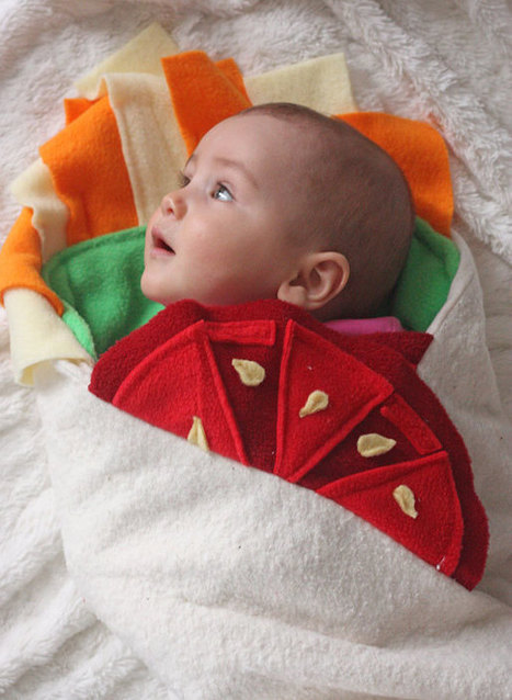 This Burrito Baby Blanket Will Turn Your Infant Into A Baby-rito | Edu's stuff | Scoop.it