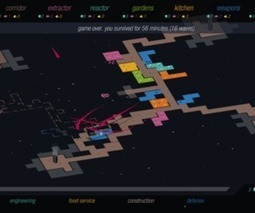 'RYMDKAPSEL' mixes Tetris and StarCraft into one great mobile game | analiatran | Scoop.it