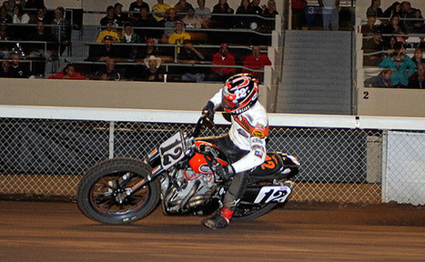 Braswell Brings Flat Track Back to Our Country Roots Recording the First Ever Music Video at an AMA Pro National | California Flat Track Racing | Scoop.it