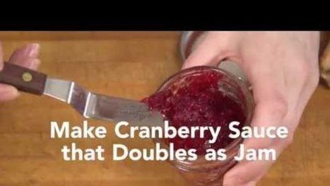 Make a Cranberry Sauce that Doubles as a Jam   Bazaar   Scoop.it