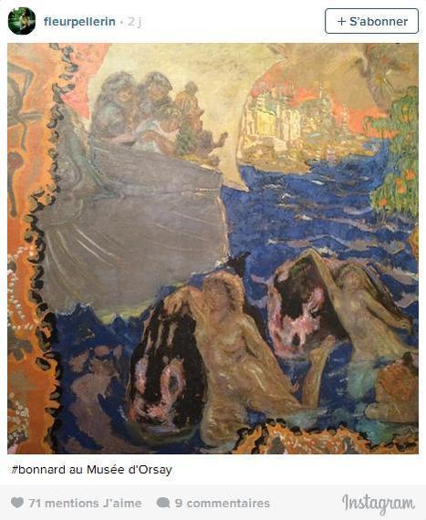 Un Instagram de Fleur Pellerin oblige le musée d'Orsay à modifier son règlement | Clic France | Scoop.it