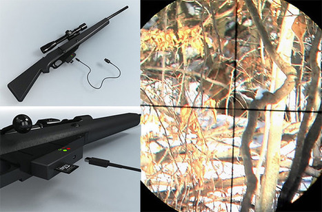 KillShot: A Rifle Camera for Hunting with Photos Instead of Bullets | alles für den foto | Scoop.it