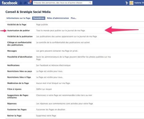 Conseils pour gérer votre Page Facebook | WEBMARKETING | Scoop.it