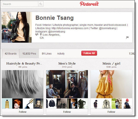 The World's Top 5 Pinners on Pinterest | Jeffbullas's Blog | PINTEREST Watch - Curated by Jan Gordon | Scoop.it