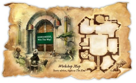 Workshop Map | Story Elves | How to find and tell your story | Scoop.it