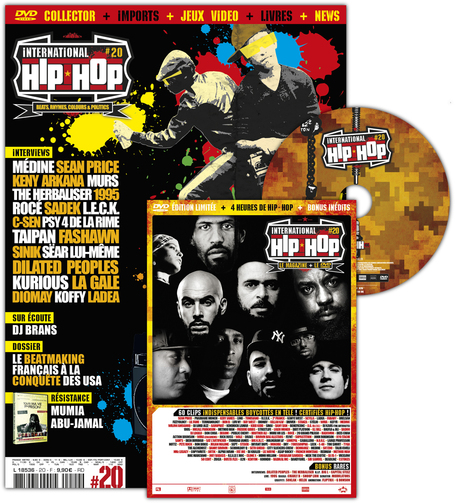 www.journaux.fr - International Hip Hop + DVD édition limitée | Paris Tonkar magazine | Scoop.it