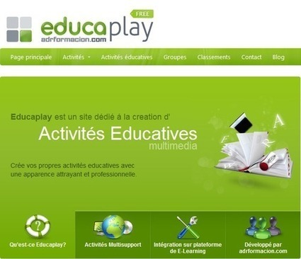 Création d'exercices interactifs en flash – 10 types d'activités | | Ressources pour les TICE en primaire | Scoop.it