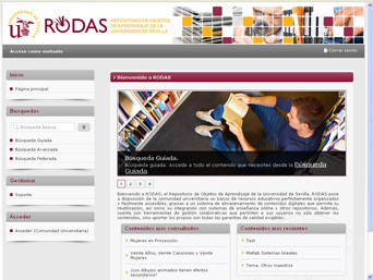 La US ofrece un repositorio de más de 15.000 objetos digitales de aprendizaje desarrollado por Sadiel | Actualidad y blogs de Grupo Aluego | e-learning y aprendizaje para toda la vida | Scoop.it